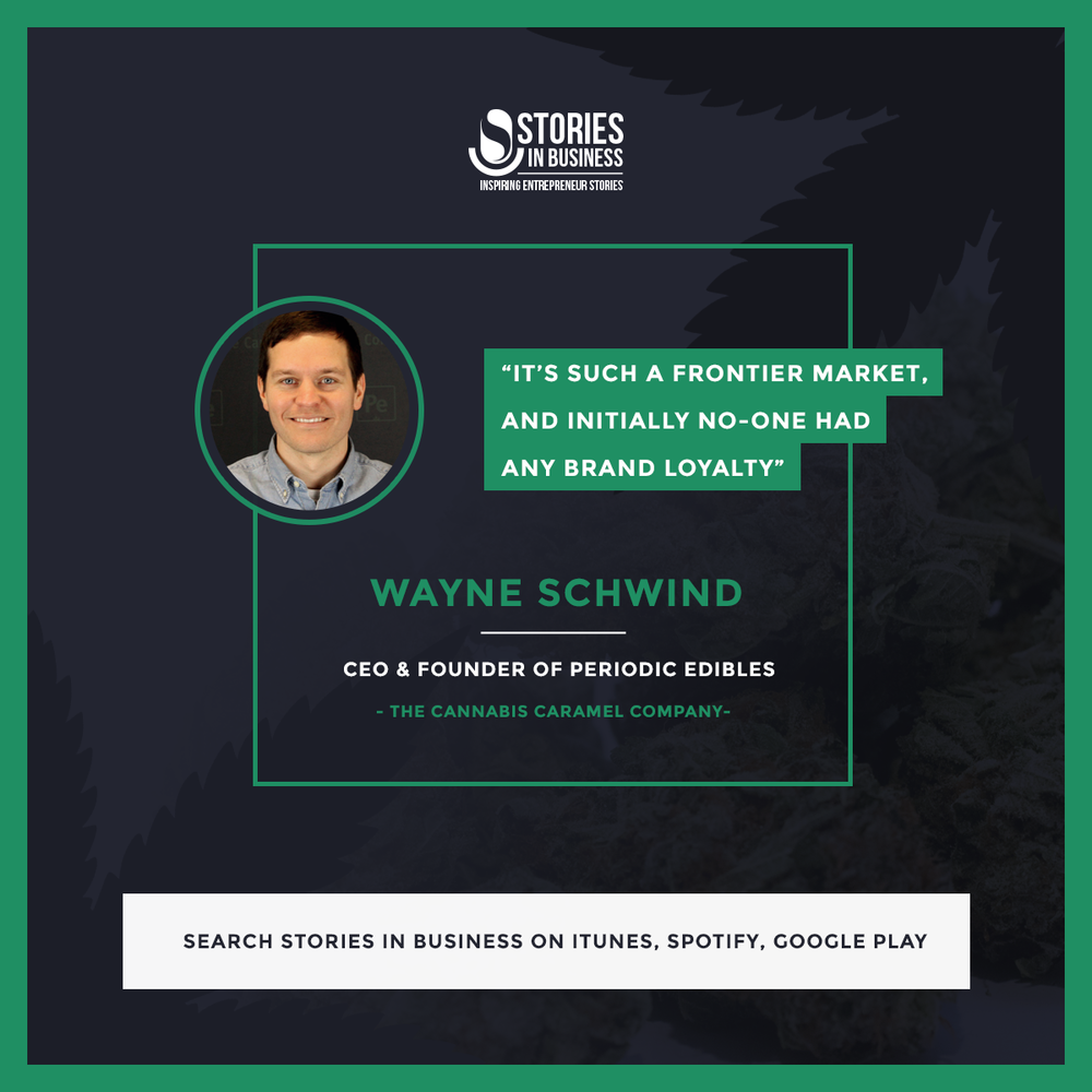 Wayne Schwind on Stories in Business Podcast, Cannabis Company operating in the rec market