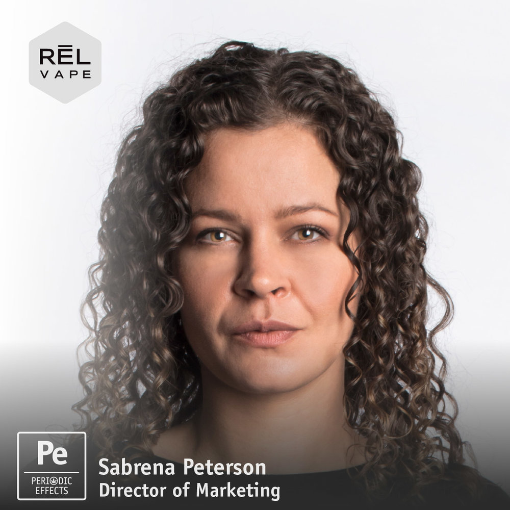 Sabrena Peterson, Director of Marketing for REL Vape, a cannabis extract company in Portland, Oregon