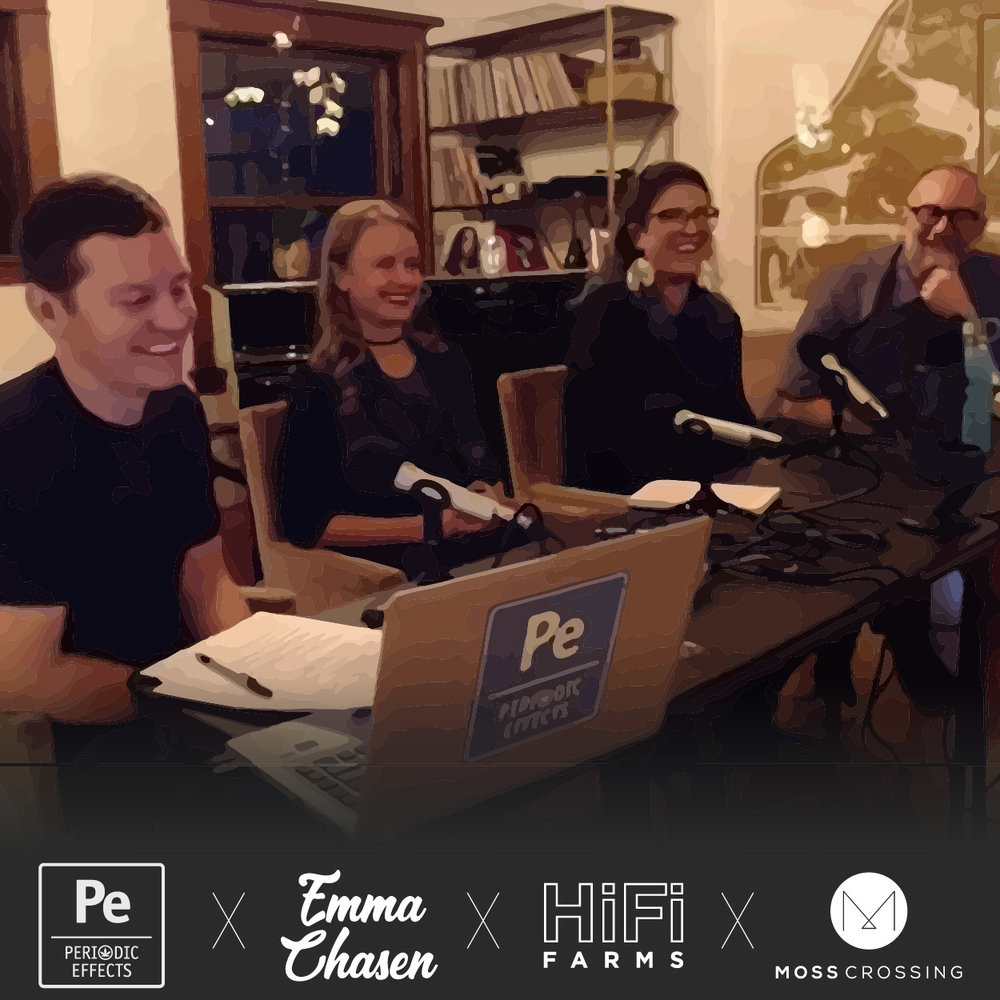 Science of Cannabis Podcast covering high potency percentages versus high terpene profiles with Emma Chasen, Lee Henderson from HiFi Farms and Cedar Hughes-Blades from Moss Crossing.