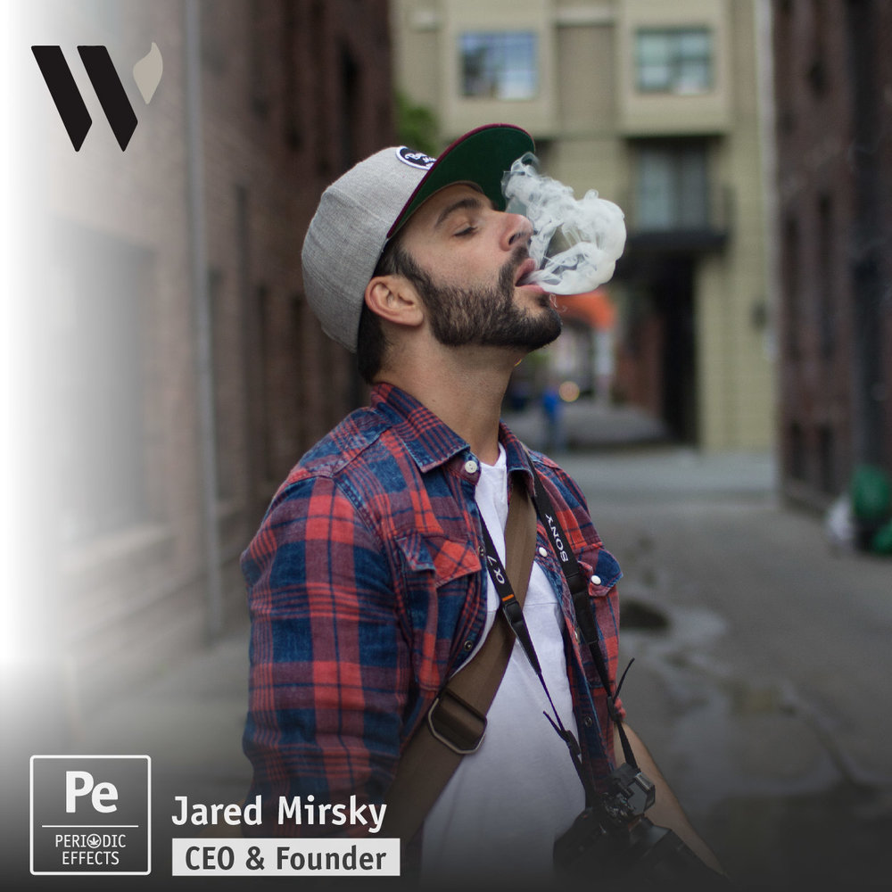 Jared Mirsky, CEO and Founder of Wick and Mortar Cannabis Design Branding Agency
