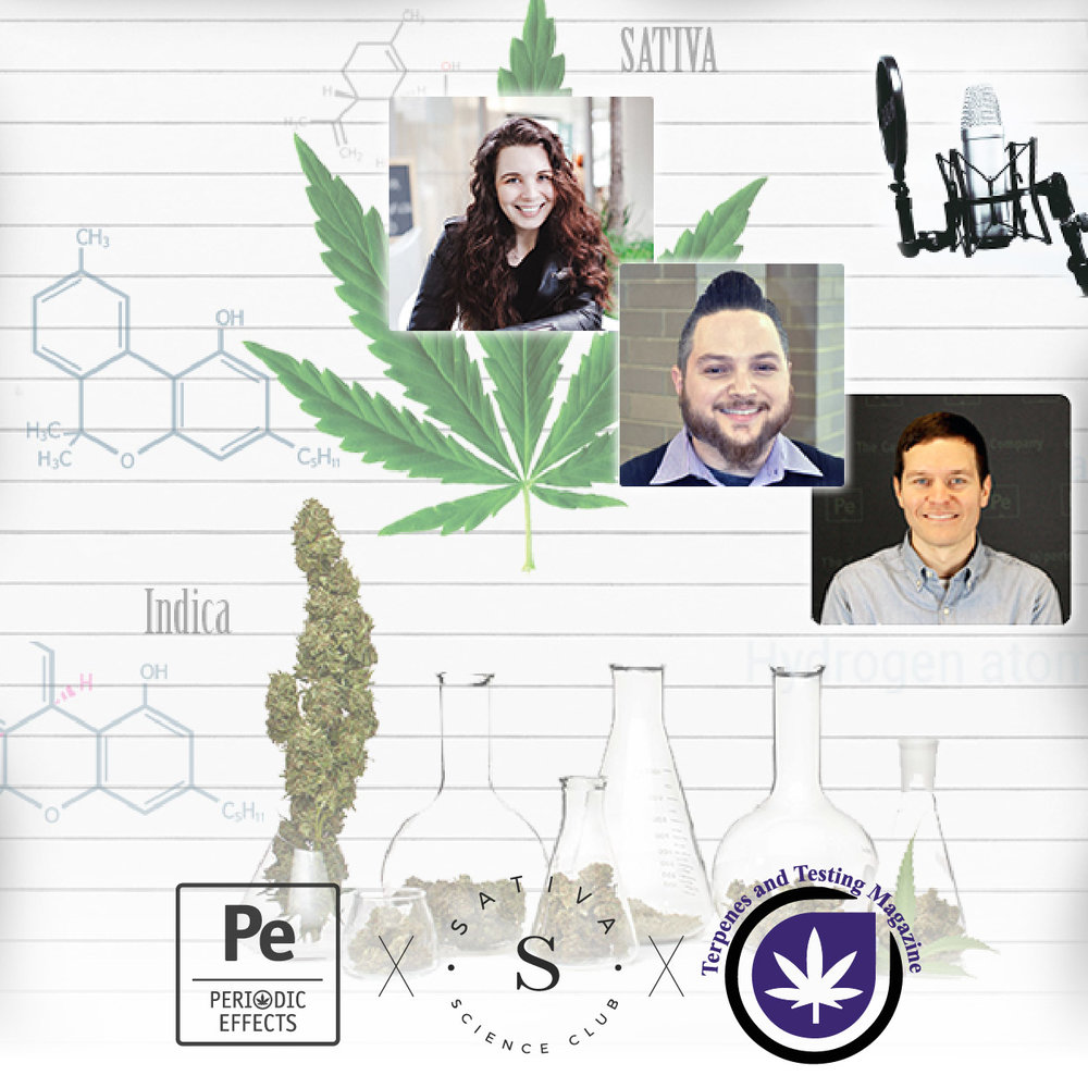 Jason Lupoi, Editor in Chief of Terpenes and Testing Magazine and Mary Poppins, Founder of Sativa Science Club, Science of Cannabis Series_08