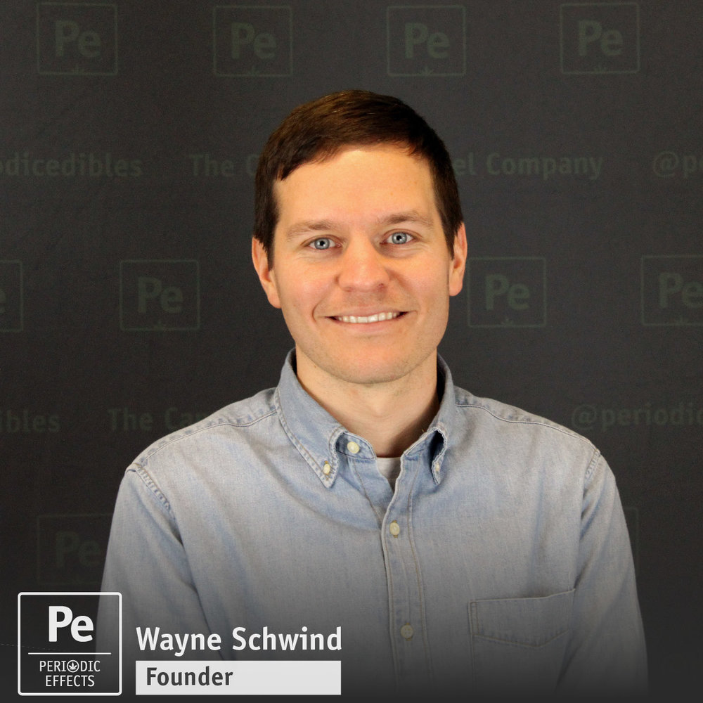 Wayne Schwind, Founder and Owner of Periodic Edibles, The Cannabis Caramel Company, Made in Oregon