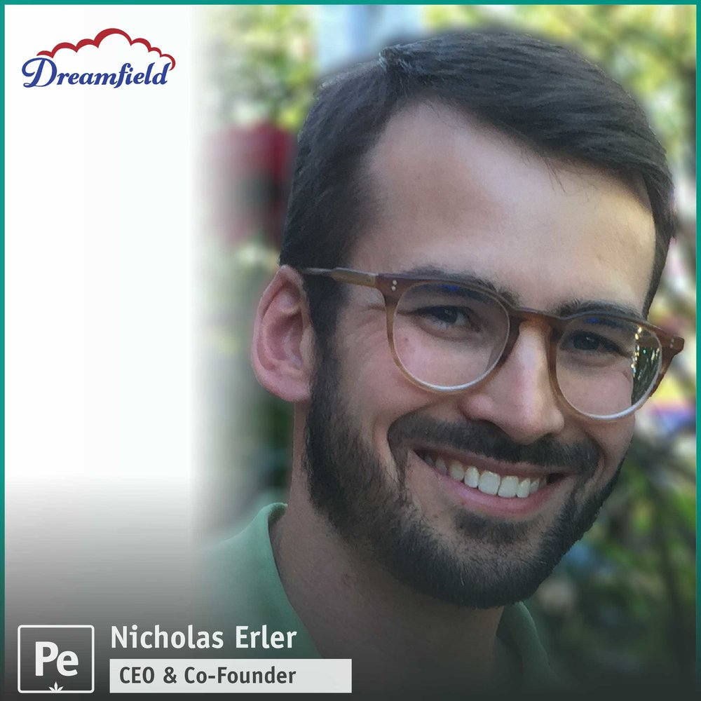 Nicholas Erler, Co-Founder and CEO of Dreamfield, a cannabis distribution and logistics company in the Oregon recreational market