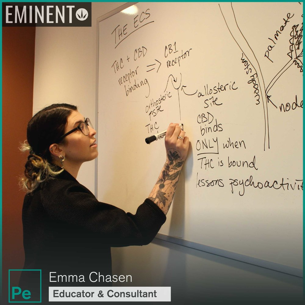 Emma Chasen, Cannabis Consultant, Educator, Teacher of the Science of Cannabis