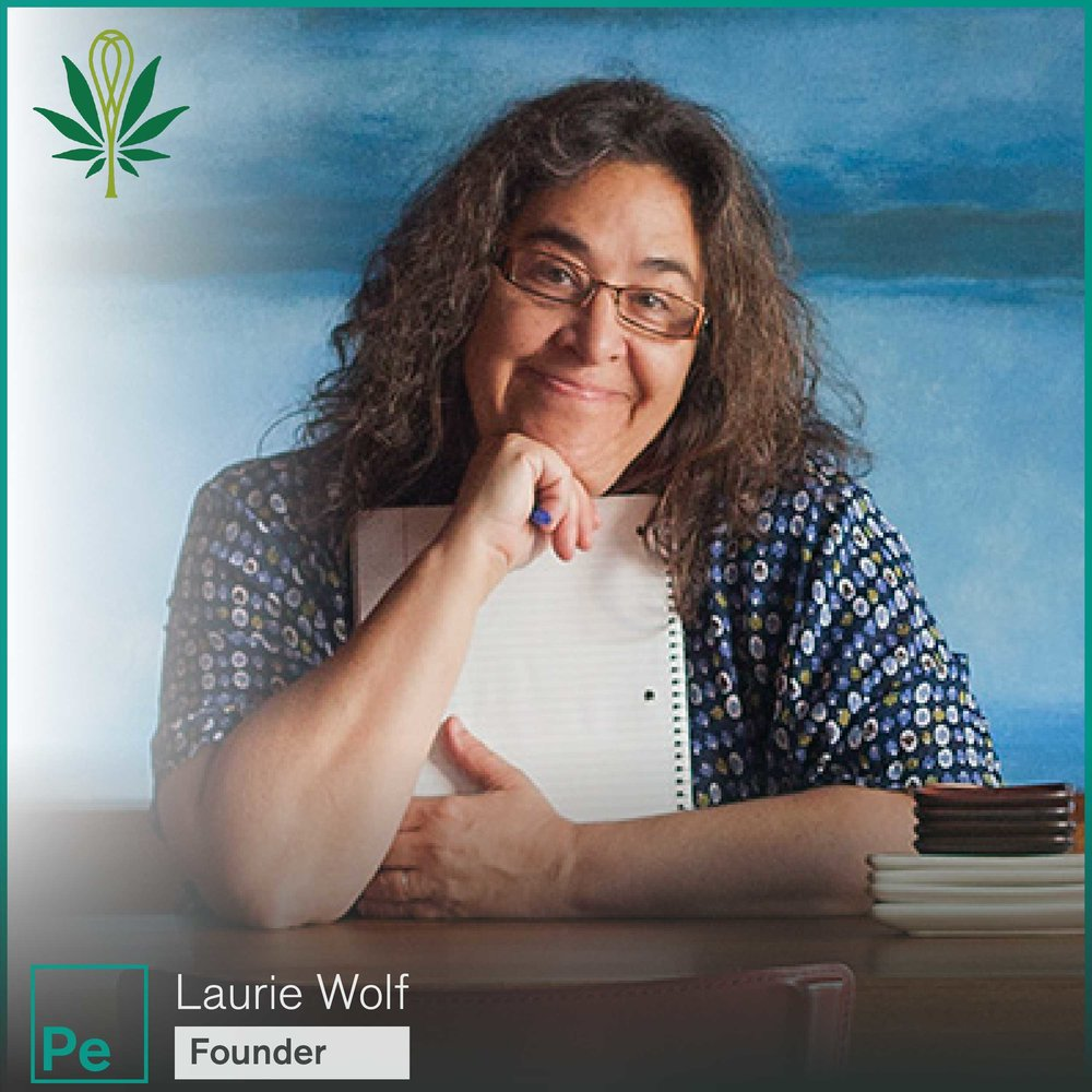 Laurie Wolf from Laurie and MaryJane a cannabis edible processor in Oregon