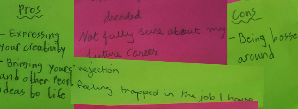 some of the collected feedback