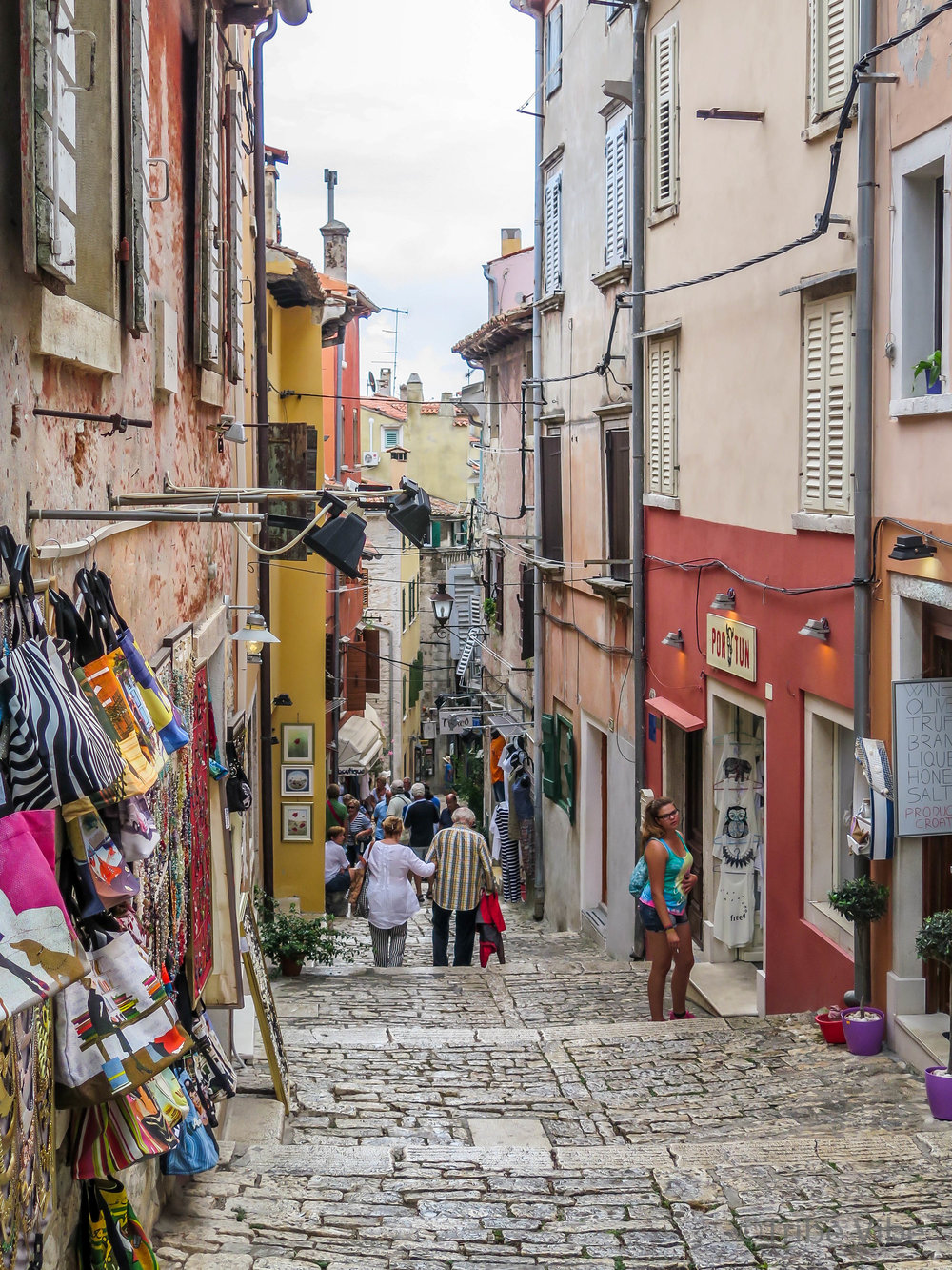 Croatia Road Trip. Dreamy Rovinj