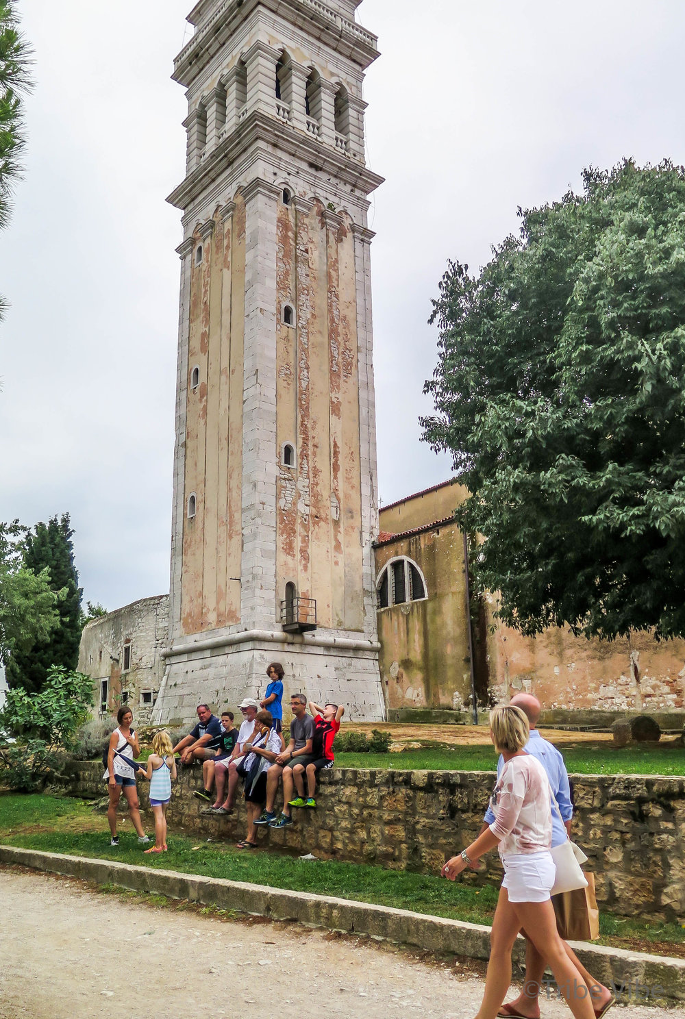 Croatia Road Trip. Dreamy Rovinj. Church of St. Euphemia bell tower