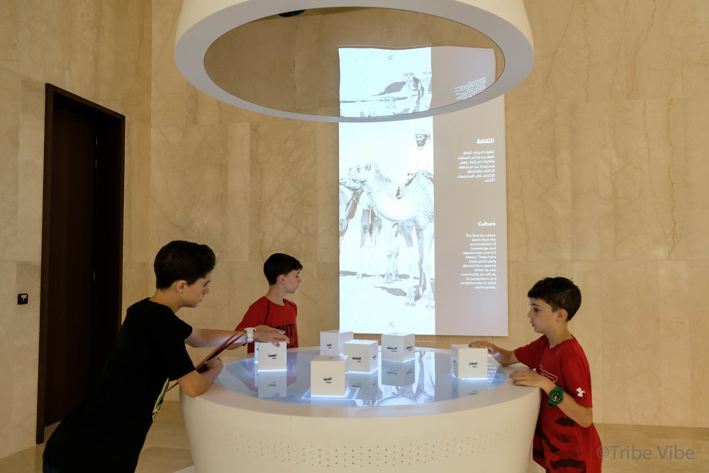 Something to do on a Hot Summer Dubai Day. Visit Etihad Museum