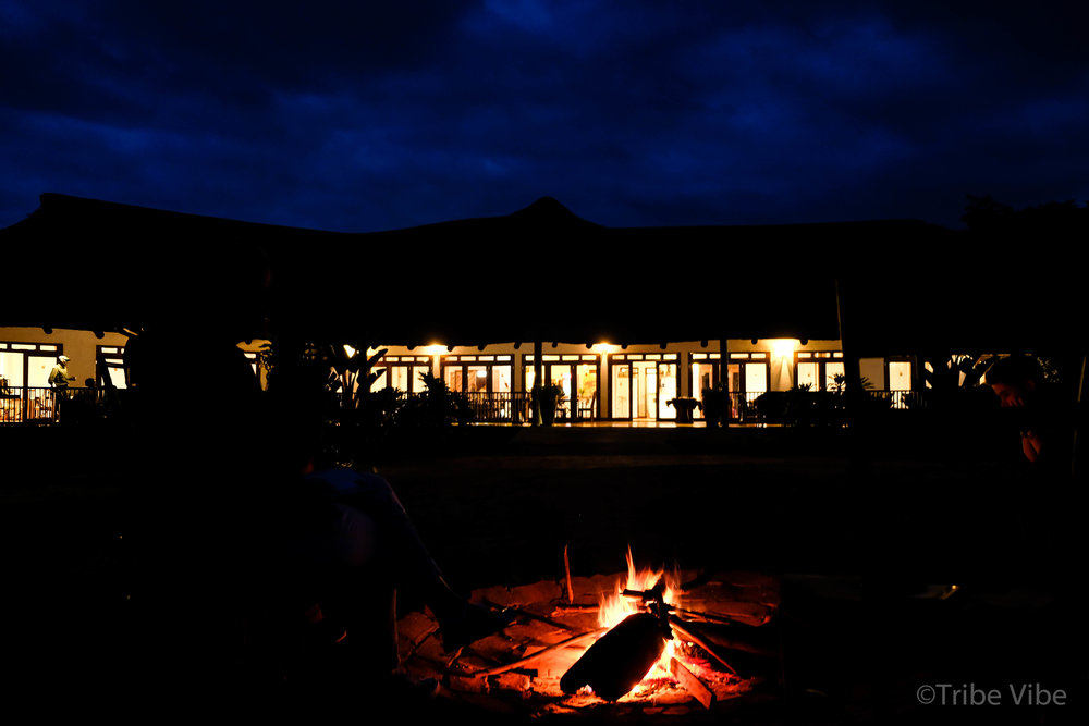 The Beautiful Farm House Valley Lodge in the Ngorongoro Crater. African Family Safari to Tanzania
