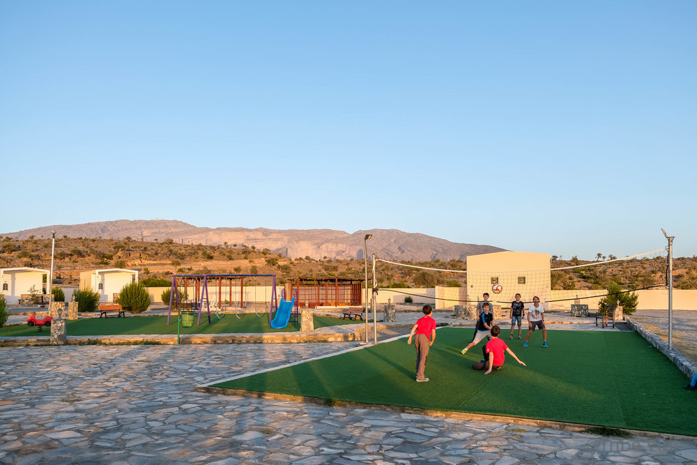 Let the Games Begin. Jebel Shams Resort, Oman.