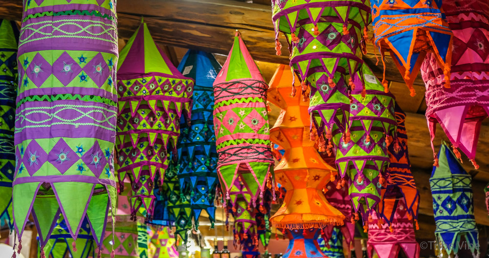 Lanterns everywhere at Coombs Old Country Market