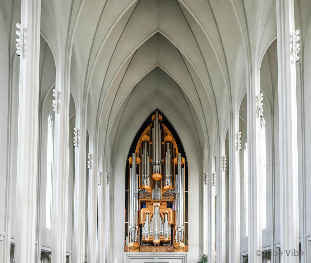 Pipe organ in Hallgrimskirkja Church