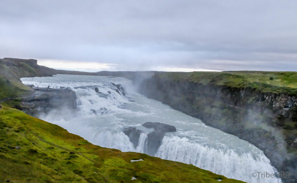 Gullfoss in the Golden Circle of Iceland