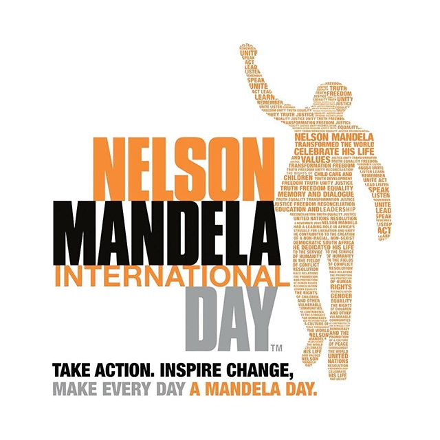 Today marks the day that would have been the 100th birthday of Nelson Mandela. July 18th is Nelson Mandela International Day. #letfreedomreign #actionagainstpoverty #mandela100 #livingthelegacy #madiba #46664 #southafrica #humanrights #bethechange #tribevibeblog