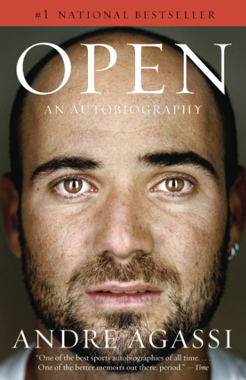 Andre Agassi's boook, Open