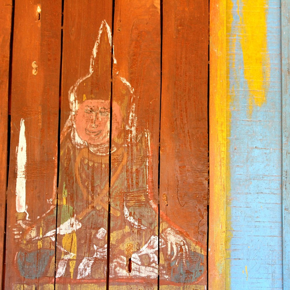 pagoda wall art