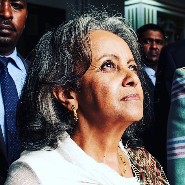 #womenaroundtheworld Sahle-Work Zewde was unanimously appointed Ethiopia's first female president. How awesome is that!!💪❤️ Ethiopia also has 50% women holding government ministerial roles with the most prominent roles of ministers of defence and peace being held by women. Awesome!
