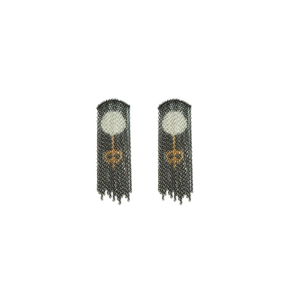 Elena Lara Bonanomi - Pearl earrings