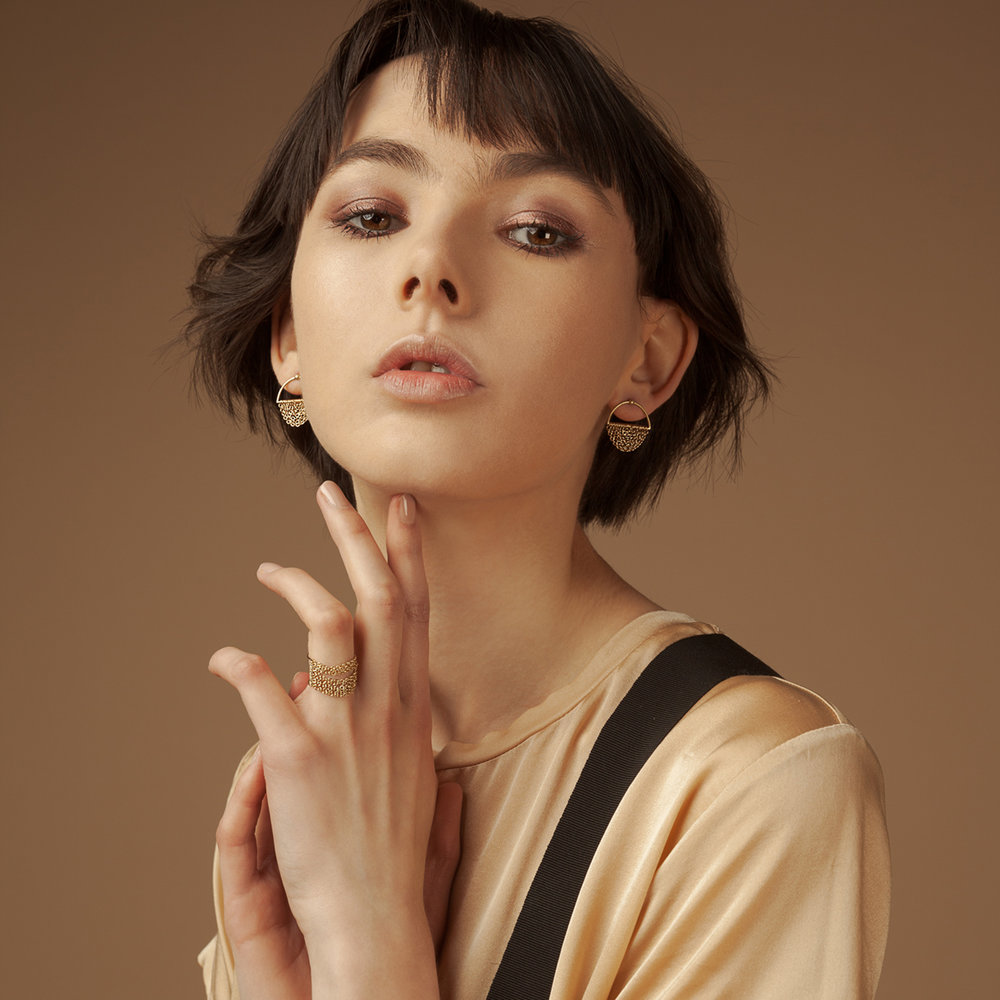 Pieno/Vuoto Earrings
