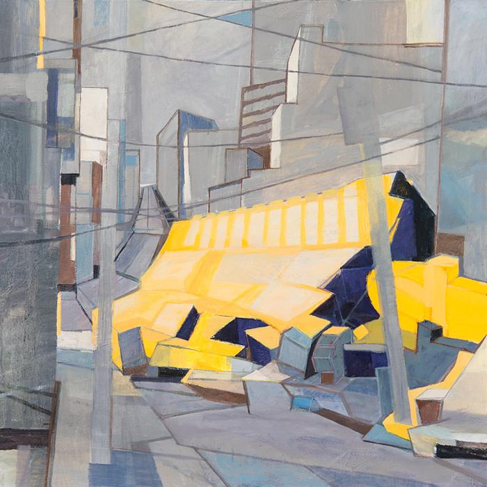 /// ASAHI  / oil on canvas / 100-100 cm / 2013