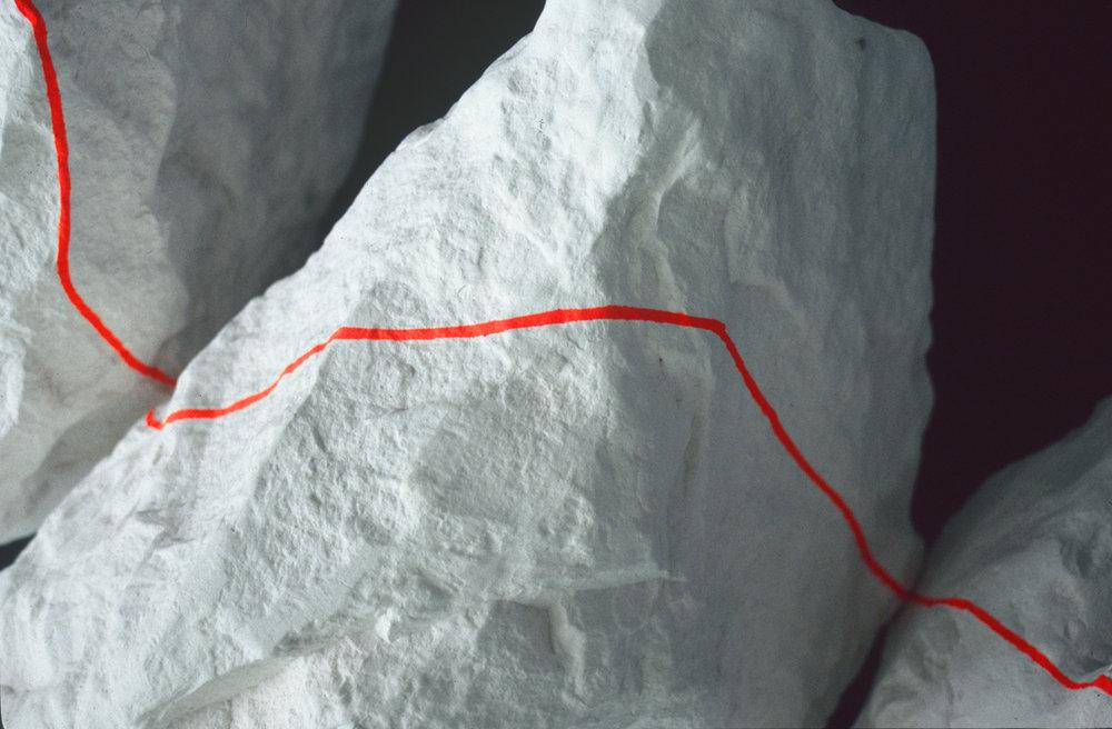 Chalk Flourescent Line