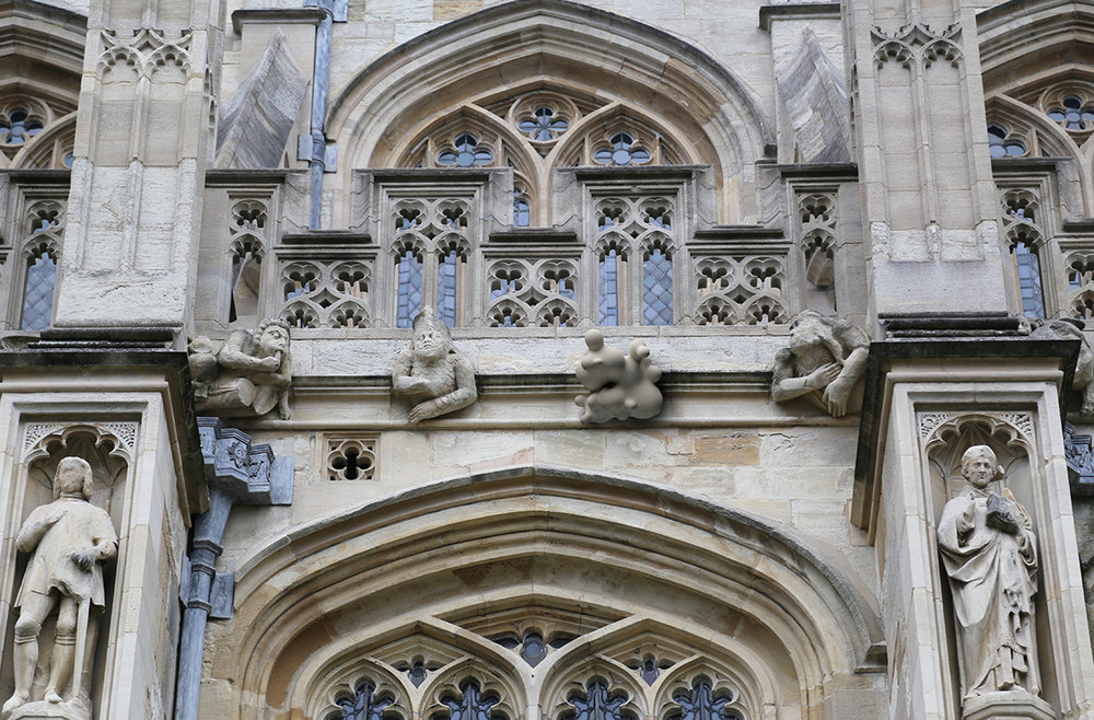 St Georges Chapel Grotesque