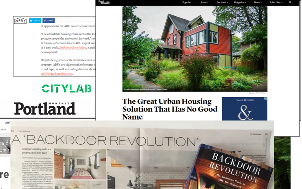 As seen in The Atlantic, Curbed.com, CityLab, Portland Monthly, and The Oregonian -