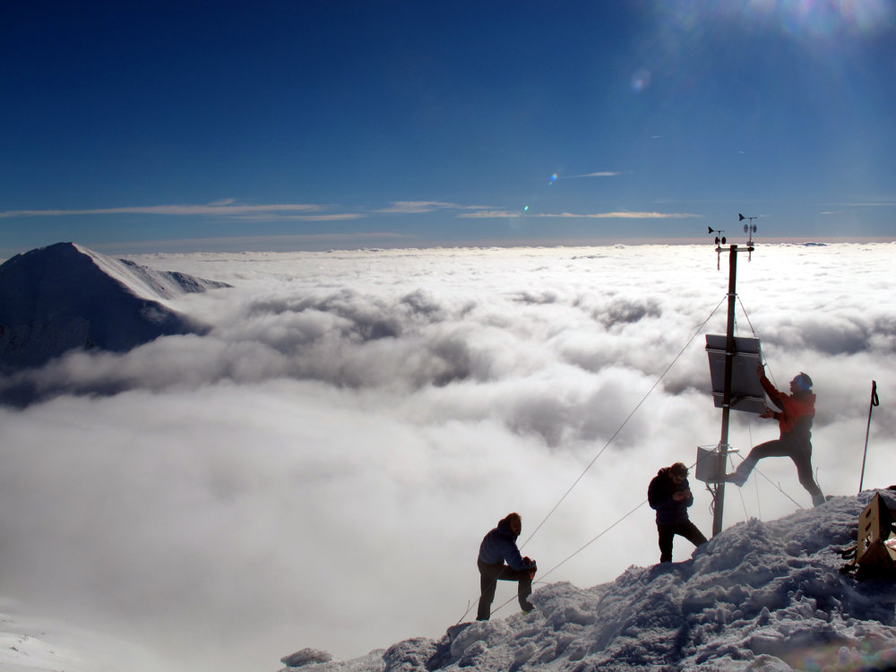 Highest located AWS in Slovakia. Sensor location: High Tatra mountains (Carpathian mountain range), Slovakia.