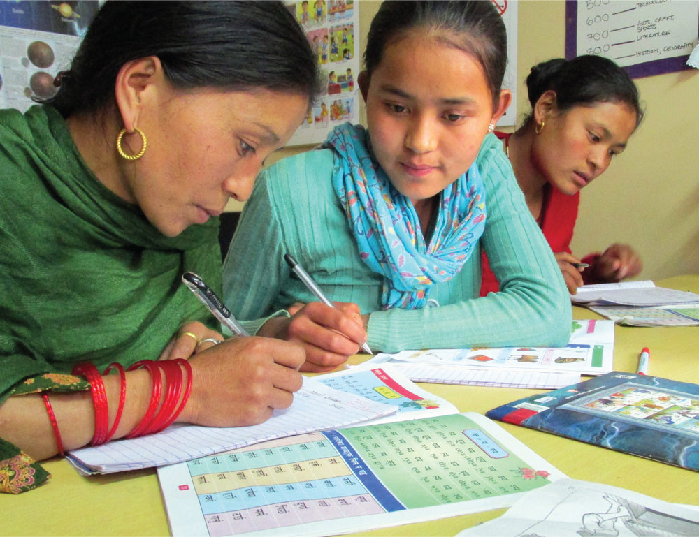 EDUCATION - Teaching literacy and numeracy, gender equality and women's health