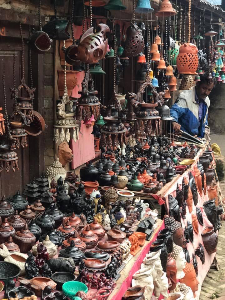 Market Stalls at Dubar Square