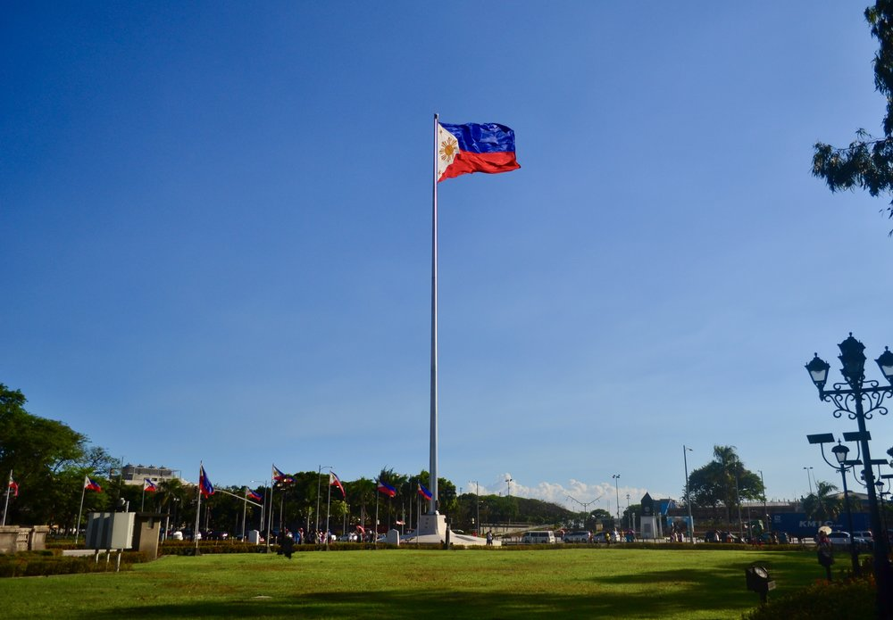 The Independence Flagpole, the highest in the country