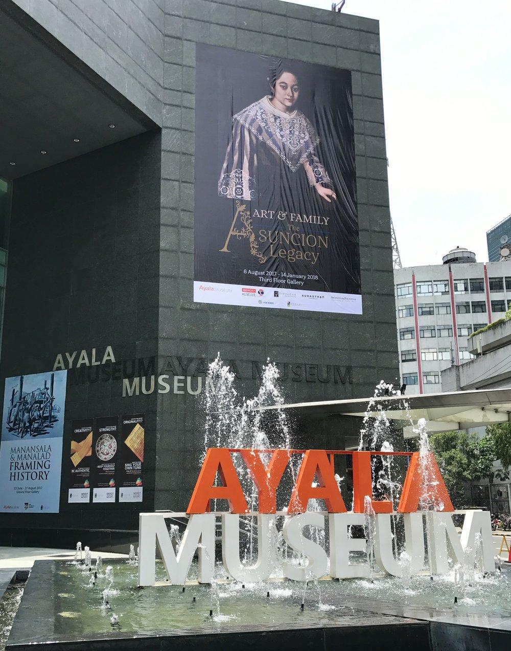 Ayala Museum facade