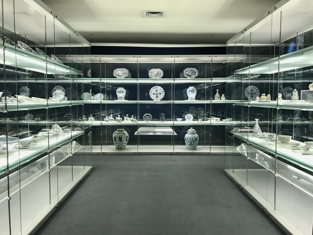 Collection of blue-and-white porcelain