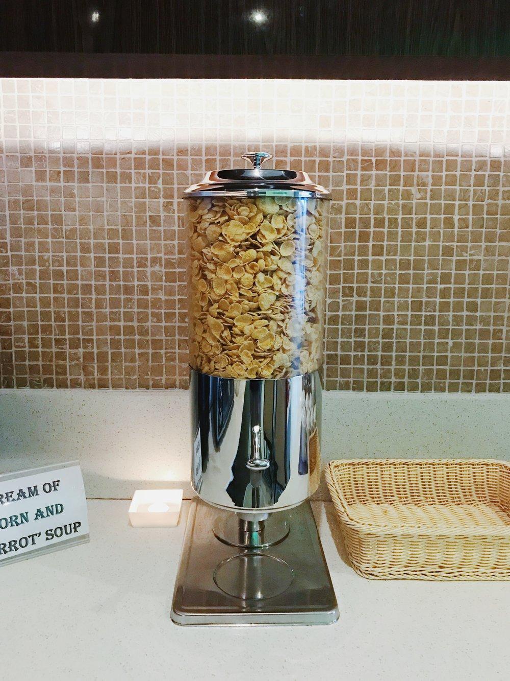 Cereals, too