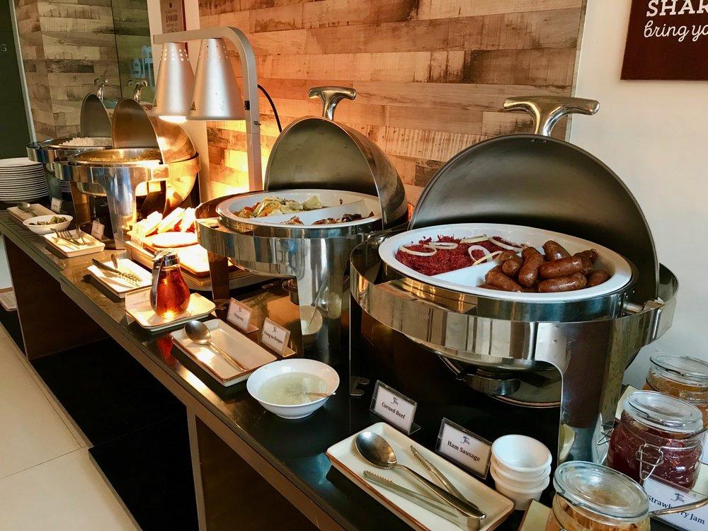 Breakfast buffet at Ferra Hotel Boracay
