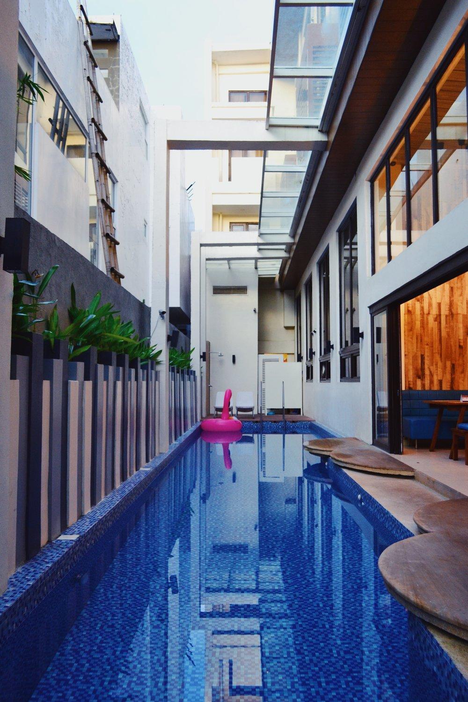 Ferra Hotel Boracay Lap Pool