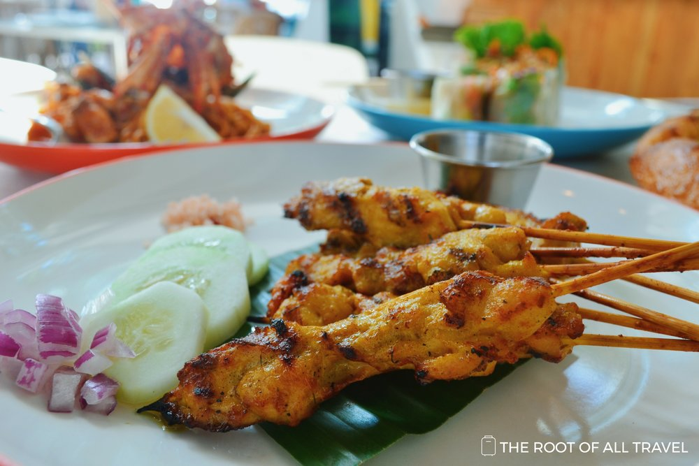 Cha Cha's Grilled Chicken Satay