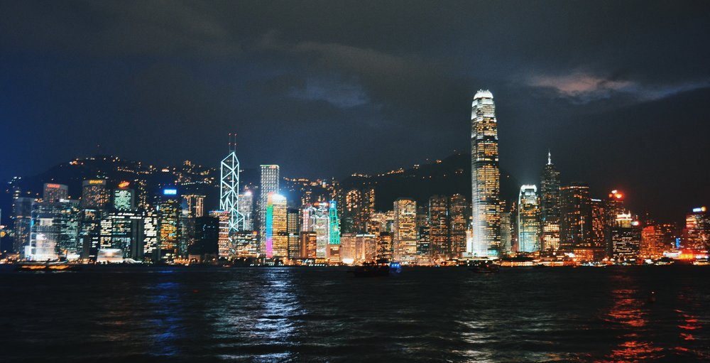 The timeless Victoria Harbour in Hong Kong