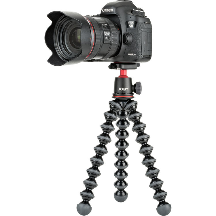 Tripod - Similar to a gimbal, a tripod comes in handy for content creators to get those steady establishing shots. Some tripods also serve as stabilizers. So that's a two-for-one deal! Sweet!