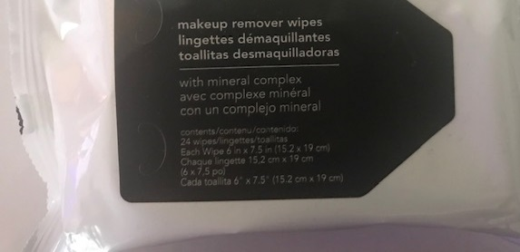 PGP Belle Tiffany loves using make-up wipes….They are gentle on your skin and help to remove left over makeup after a busy Posh day.