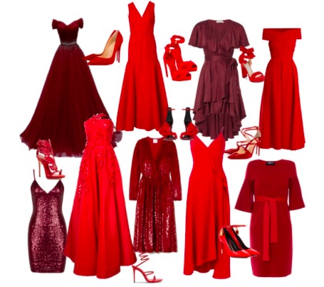 red is the new black christmas party dress inspo lifestyle doodle