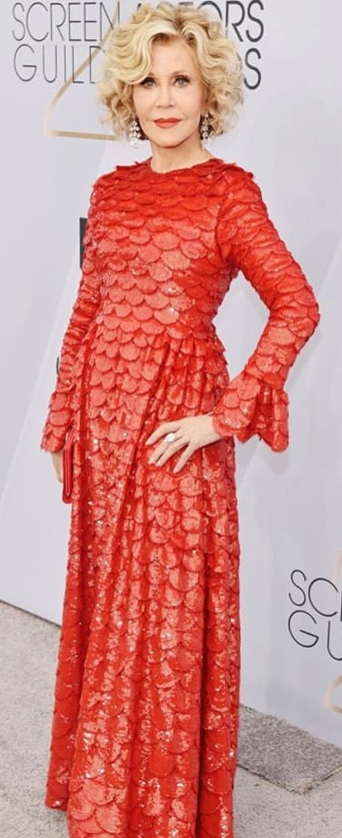 Jane Fonda in Valentino