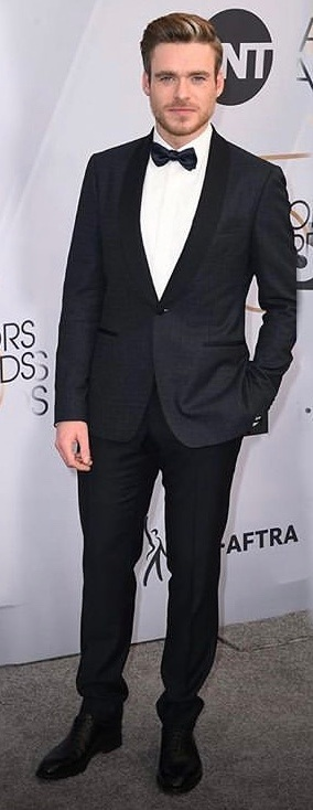 Richard Madden in Salvatore Ferragamo