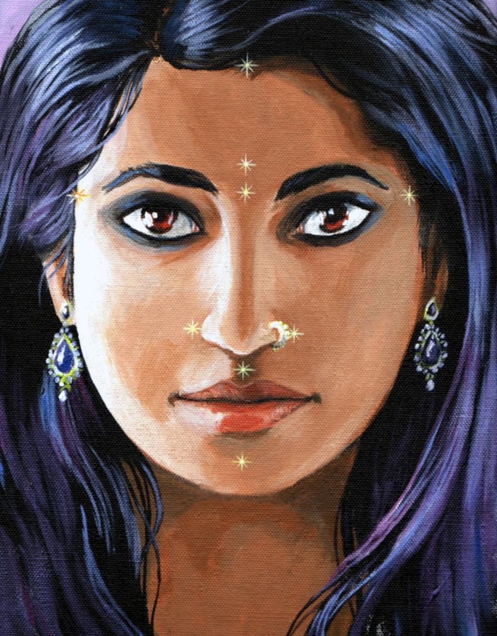 Marma Girl by artist Ricardo Dieguez