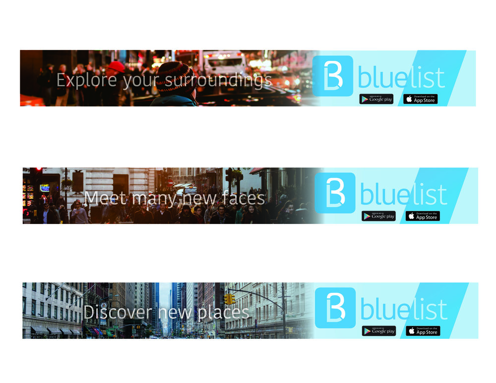 Rectangle web banners