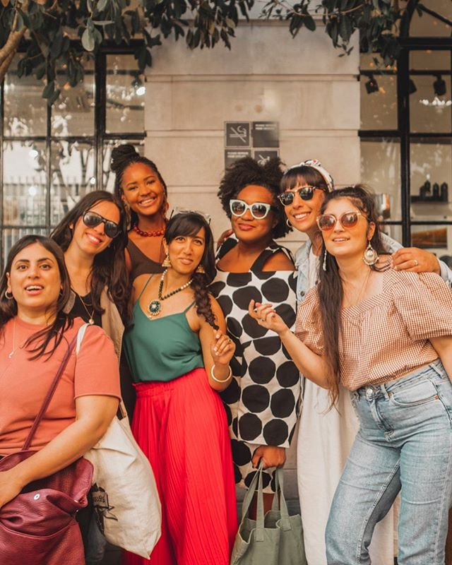 Unadulterated joy, unapologetic candour, unbelievable warmth, unfettered laughter.  I soaked up that energy, the energy these women exude, it's palpable - women of colour are extraordinary.  Today was a GOOD Friday.  My heart is happy.
