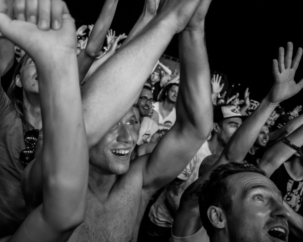 Osheaga 2011:  The Flaming Lips crowd