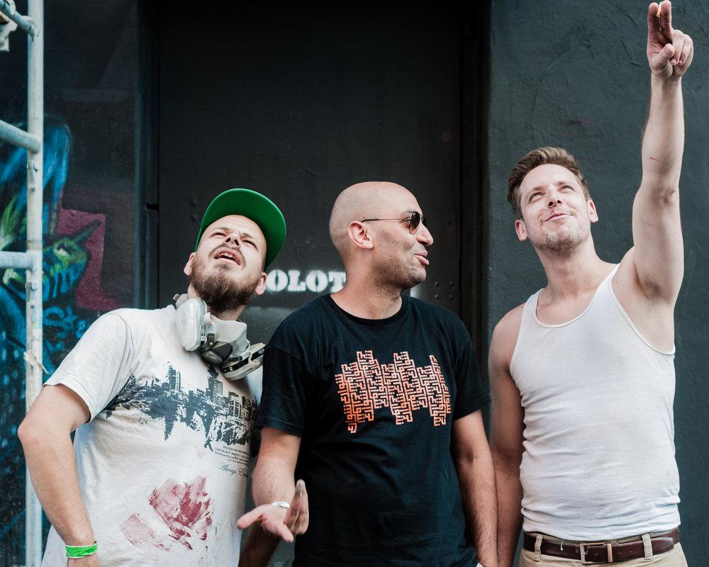 Under Pressure 2014:  Artists
