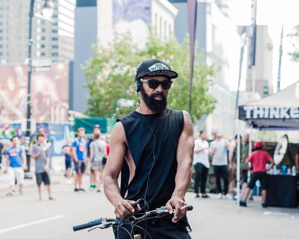 Under Pressure 2014:  Festival-goer